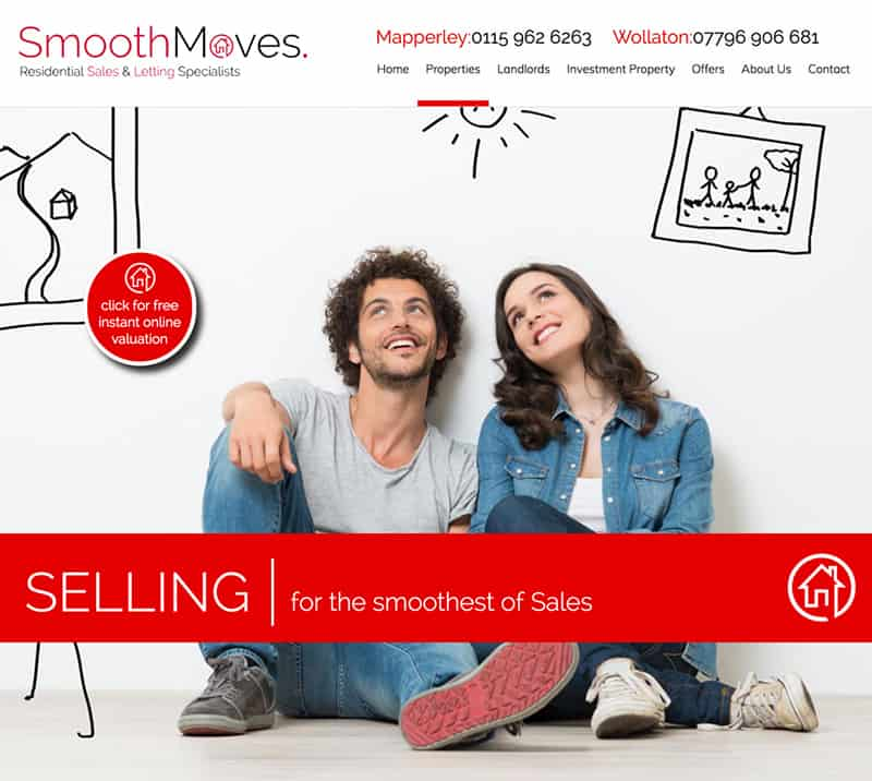 web-design-nottingham-smooth-moves-estate-agent